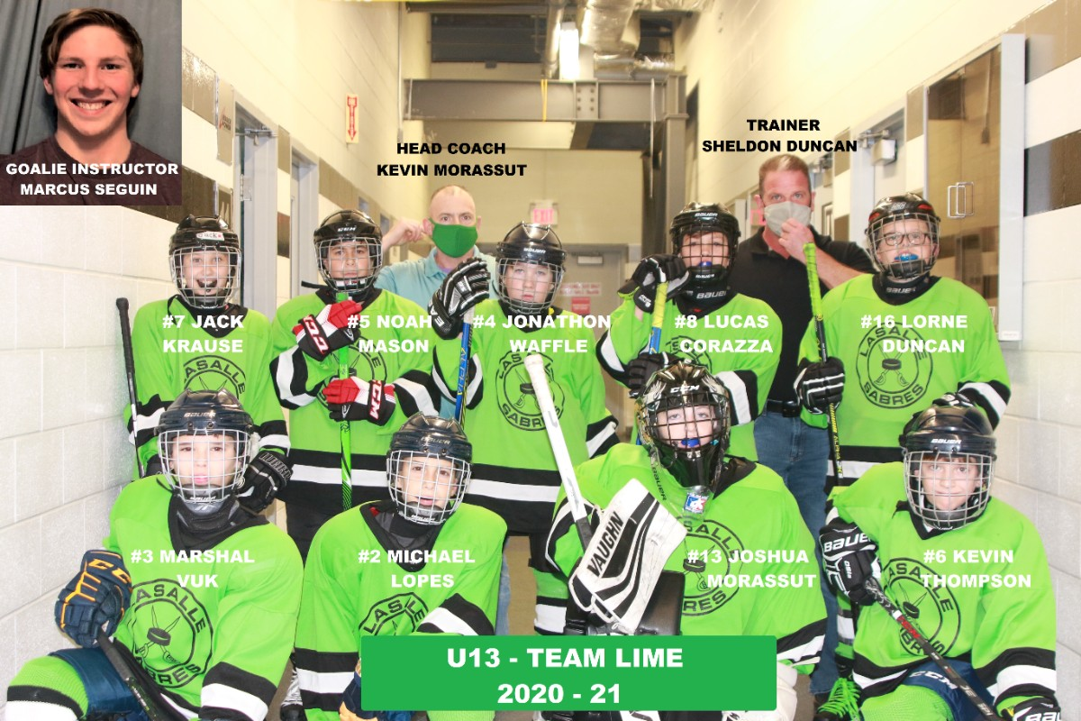 U13 Team Lime Photo